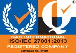 Gas International ISO/ISEC 27001:2013 Registered Compan